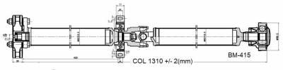 DSS - Drive Shaft Assembly BM-415