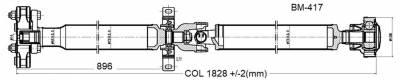 DSS - Drive Shaft Assembly BM-417