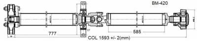 DSS - Drive Shaft Assembly BM-420