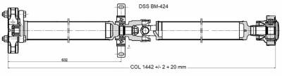 DSS - Drive Shaft Assembly BM-424