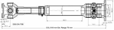 DSS - Drive Shaft Assembly DK-708
