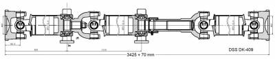DSS - Drive Shaft Assembly DK-709