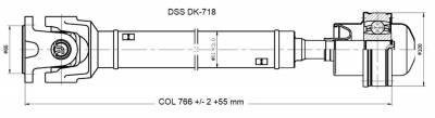 DSS - Drive Shaft Assembly DK-718
