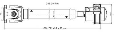 DSS - Drive Shaft Assembly DK-719