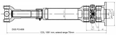 DSS - Drive Shaft Assembly FO-606