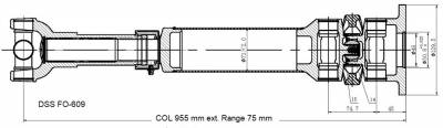 DSS - Drive Shaft Assembly FO-609