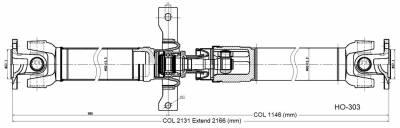 DSS - Drive Shaft Assembly HO-303