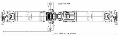 DSS - Drive Shaft Assembly HO-304