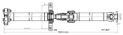 DSS - Drive Shaft Assembly HY-807