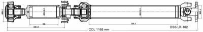 DSS - Drive Shaft Assembly LR-102