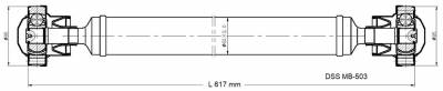 DSS - Drive Shaft Assembly MB-503