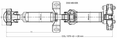 DSS - Drive Shaft Assembly MB-506