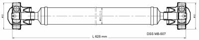 DSS - Drive Shaft Assembly MB-507