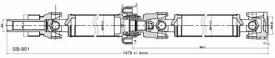 DSS - Drive Shaft Assembly SB-901