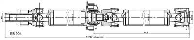 DSS - Drive Shaft Assembly SB-904