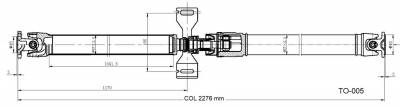 DSS - Drive Shaft Assembly TO-005