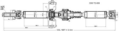 DSS - Drive Shaft Assembly TO-006