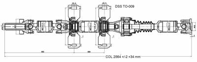 DSS - Drive Shaft Assembly TO-009