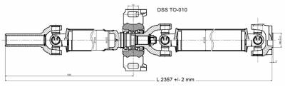 DSS - Drive Shaft Assembly TO-010