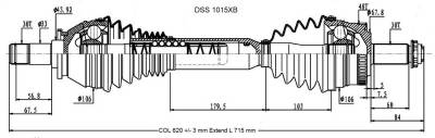 DSS - High Performance CV Axle Shaft 1015XB - Image 2