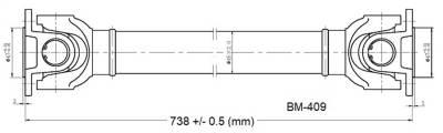 Drive Shaft Assembly BM-409