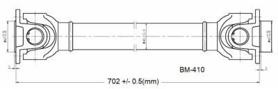 Drive Shaft Assembly BM-410