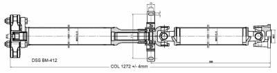 Drive Shaft Assembly BM-412