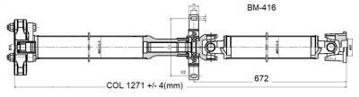 Drive Shaft Assembly BM-416