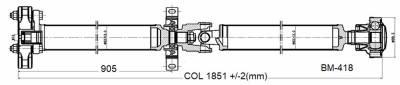 Drive Shaft Assembly BM-418