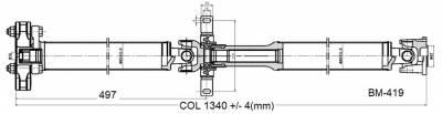 Drive Shaft Assembly BM-419