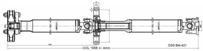 Drive Shaft Assembly BM-421