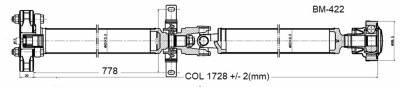 Drive Shaft Assembly BM-422