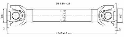 Drive Shaft Assembly BM-423