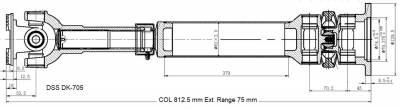 Drive Shaft Assembly DK-705