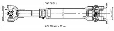 Drive Shaft Assembly DK-721
