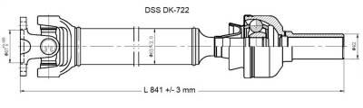 Drive Shaft Assembly DK-722