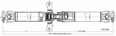 DSS - Drive Shaft Assembly HO-302 - Image 2